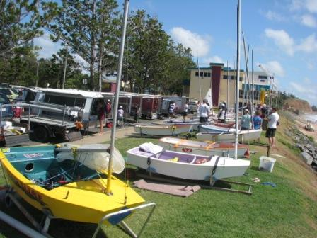 Rigging Lawn At Keppel Bay Sailing Club